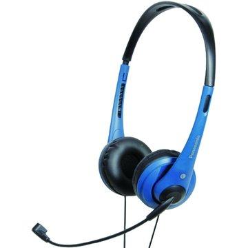 Panasonic 國際牌 HM111-A(藍)頭戴式耳機麥克風(福利品出清)