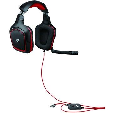 Logitech 羅技G230遊戲頭戴式耳機麥克風 (福利品出清)