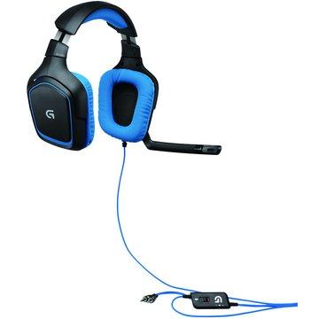 Logitech 羅技G430環繞音效遊戲頭戴式耳機麥克風