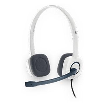 Logitech 羅技H150(白)頭戴式耳機麥克風 (福利品出清)