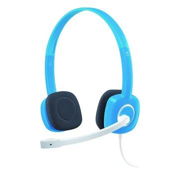 Logitech 羅技H150(藍)頭戴式耳機麥克風