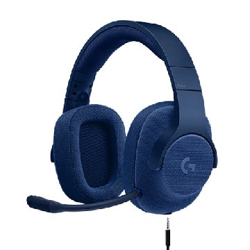 Logitech G433 7.1聲道有線遊戲耳麥-真實藍