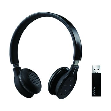 rapoo 雷柏 H8020(黑)2.4G無線耳機麥克風(福利品出清)