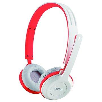 rapoo 雷柏 H8030(紅)2.4G無線耳機麥克風(福利品出清)
