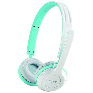 rapoo 雷柏 H8030(藍)2.4G無線耳機麥克風(福利品出清)