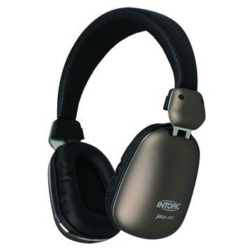 INTOPIC 廣鼎JAZZ-515(咖啡)高音質耳機麥克風