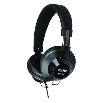 INTOPIC 廣鼎JAZZ-386(黑)頭戴式耳機麥克風