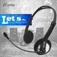 iCooby M60(黑灰)後掛式耳機麥克風