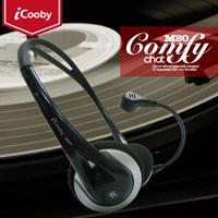 iCooby M80(黑灰)頭戴式耳機麥克風