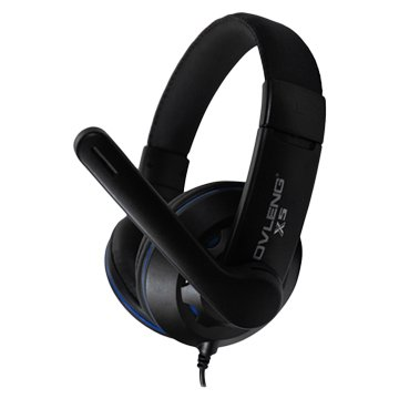 X5 (黑藍)立體聲頭戴式耳機(福利品出清)