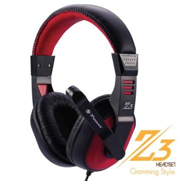 e-Power Z3(紅)遊戲行耳機麥克風(福利品出清)