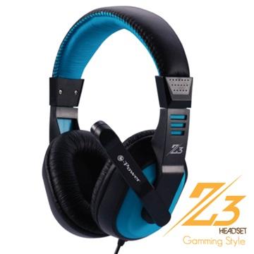 e-Power Z3(藍)遊戲行耳機麥克風(福利品出清)