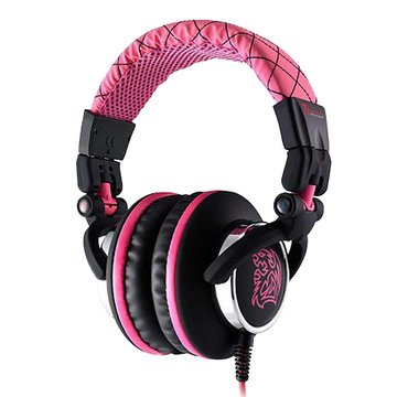 Thermaltake 曜越CHAO潮傳奇DRACCO(粉紅)電競耳機經典款(福利品出清)