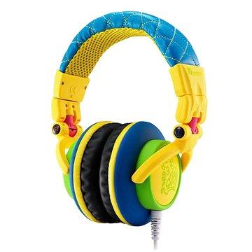 Thermaltake 曜越CHAO潮傳奇DRACCO(黃)電競耳機經典款(福利品出清)