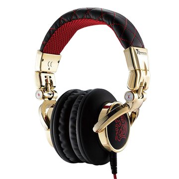 Thermaltake 曜越CHAO潮傳奇DRACCO(紅)電競耳機署名款(福利品出清)