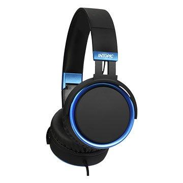 INTOPIC 廣鼎JAZZ-M397(黑)音樂摺疊耳機麥克風