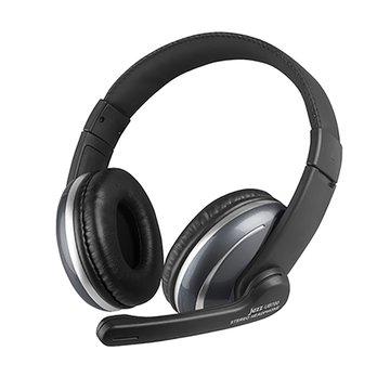 INTOPIC 廣鼎 JAZZ-UB700 (黑)USB頭戴式耳機麥克風