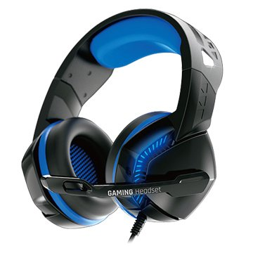 KWORLD K8000 (黑藍)電競耳機麥克風