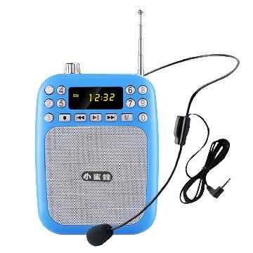 ifive 五元素 多功能時尚專業擴音機/收音機(藍)