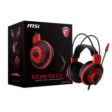 MSI 微星 DS501 全罩式電競耳機+全指向麥克風