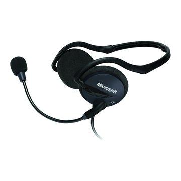 Microsoft 微軟 LX-2000(黑)耳機麥克風 (福利品出清)