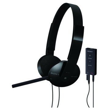 SONY 新力牌 DR-350USB(黑)頭戴式耳機麥克風(福利品出清)