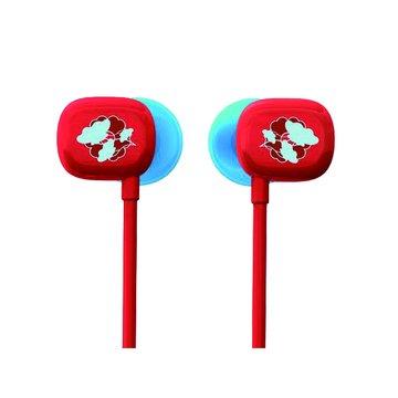 Logitech 羅技 UE100(紅)耳道式耳機(福利品出清)