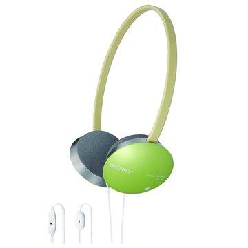 SONY 新力牌 DR-310DPV(綠)頭戴式耳機麥克風(福利品出清)