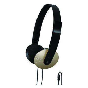SONY 新力牌 DR-320DPV(金)頭戴式耳機麥克風(福利品出清)
