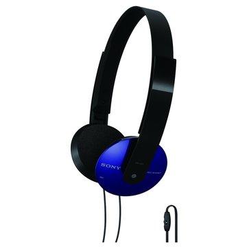 SONY 新力牌 DR-320DPV(藍)頭戴式耳機麥克風(福利品出清)