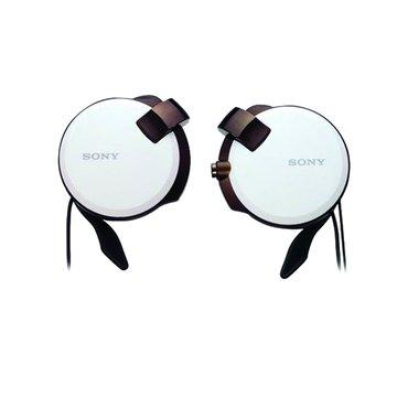 SONY 新力牌 Q38-W(白)收線耳掛式耳機(福利品出清)