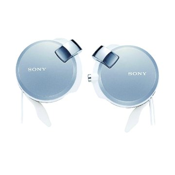 SONY 新力牌 Q38-S(銀)收線耳掛式耳機(福利品出清)