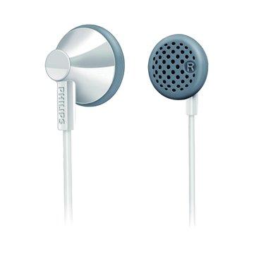 PHILIPS 飛利浦 SHE2001/10(白)耳塞式耳機(福利品出清)