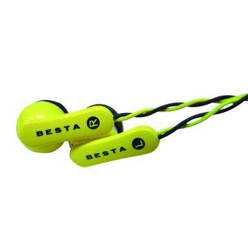 BESTA 無敵 EP-023B耳道式雙色線耳機(福利品出清)