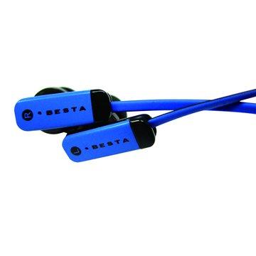 BESTA 無敵 EP-025B耳道式雙色線耳機(福利品出清)