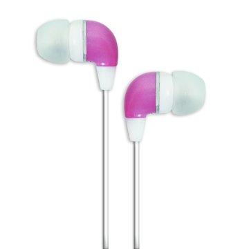 PC Park EW03(粉紅)耳塞式耳機(福利品出清)
