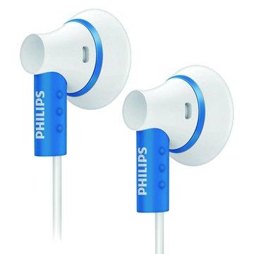 PHILIPS 飛利浦 SHE3000(藍)耳塞式耳機(福利品出清)