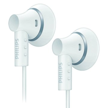 PHILIPS 飛利浦 SHE3000(白)耳塞式耳機(福利品出清)