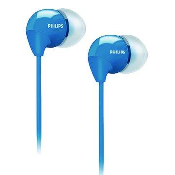 PHILIPS 飛利浦 SHE3590(藍)耳道式耳機(福利品出清)