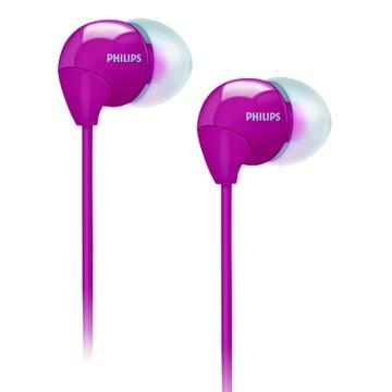 PHILIPS 飛利浦 SHE3590(粉紅)耳道式耳機(福利品出清)
