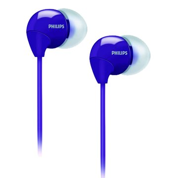 PHILIPS 飛利浦 SHE3590(紫)耳道式耳機(福利品出清)