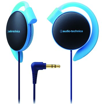 audio-technica 鐵三角EQ500 BL(藍)耳掛式耳機