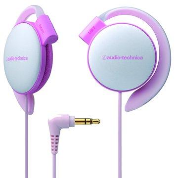 audio-technica 鐵三角EQ500 LPK(淺粉紅)耳掛式耳機