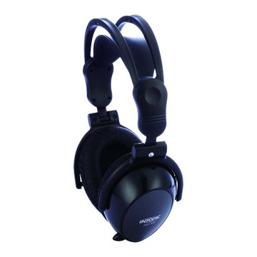 INTOPIC 廣鼎 JAZZ-850(黑)全罩頭戴可摺式耳機麥克風(福利品出清)