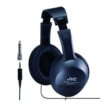JVC 傑偉世 HA-G101(黑)立體聲全罩式耳機(福利品出清)