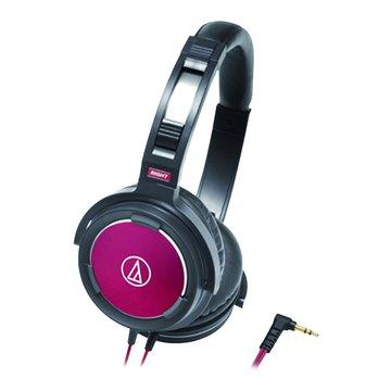 audio-technica 鐵三角WS55 BRD(黑紅)頭戴式耳機