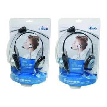 Hawk 鵰族 HKC501後掛式立體聲耳機麥克風(福利品出清)