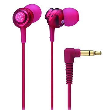 audio-technica 鐵三角 CKL202RD(紅)耳道式耳機(福利品出清)