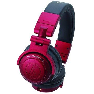 audio-technica 鐵三角PRO500MK2(紅)DJ專業耳機