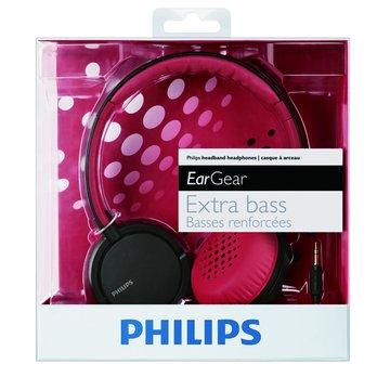 PHILIPS 飛利浦 SHL5000(紅)頭戴式耳機(福利品出清)